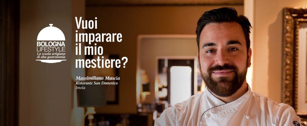 Massimiliano Mascia 2 stelle Michelin Ristorante San Domenico Imola Bologna Lifestyle